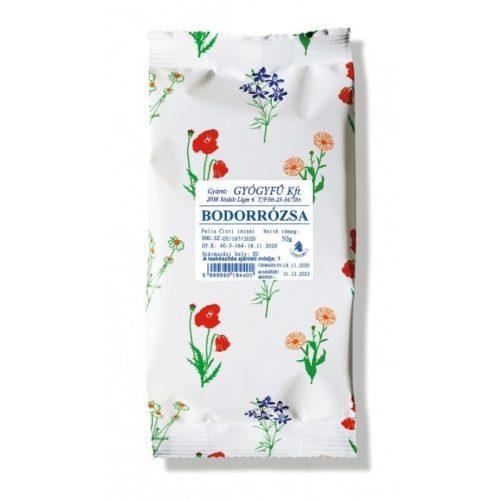 Gyógyfű BODORRÓZSA tea 50g