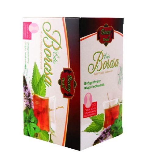 Gyógyfű Boszy ÉDES BORCSA Nyári hűsítő teakeverék 20 db filter 20x2 g