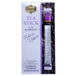 Gyógyfű Boszy FEKETE RIBIZLI Fekete tea válogatás 15 db szivarfilter 15x2 g