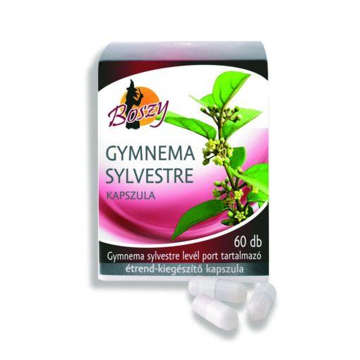 Gyógyfű Boszy GYMNEMA SYLVESTRE kapszula 60db étrendkiegészítő