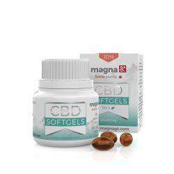 Magna G&T CBD Lágygél kapszula 10% 60 db