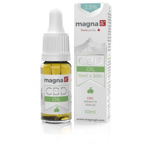 Magna G&T 2,5% CBD Olaj (olívaolajban) 10ml