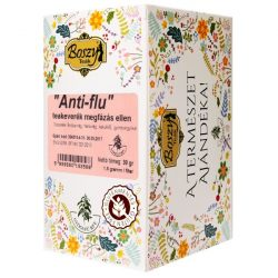 Gyógyfű Boszy ANTI-FLU meghűlés elleni teakeverék 20 db filter 20x1,5 g