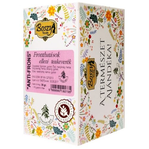 Gyógyfű Boszy ANTI-FRONS teakeverék 20 db filter 20x1,75 g