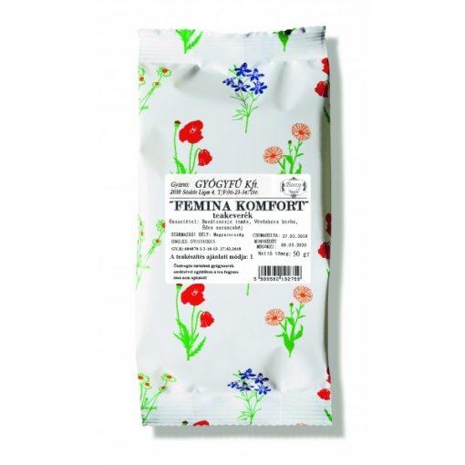 Gyógyfű FEMINA KOMFORT szálas teakeverék 50 g