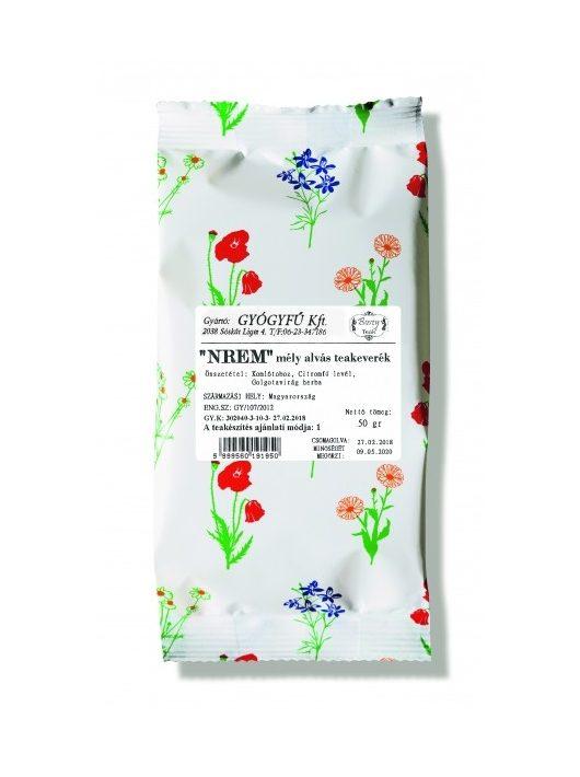 Gyógyfű NREM MÉLYALVÁS szálas teakeverék 50 g