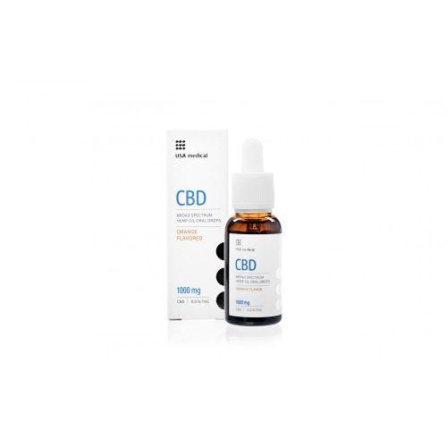 Usa Medical CBD Olaj 1000 mg|30ml